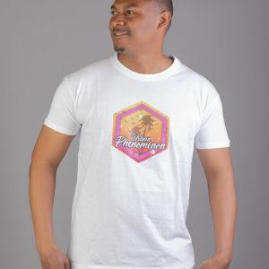 tshirt blanc gris urban