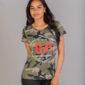 Tshirt femme camouflage - Urban